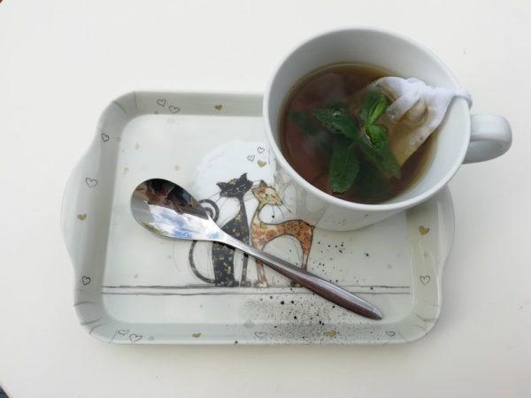 sachet de thé lavable et réutilisable